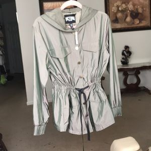 Victoria Secret satin sport jacket